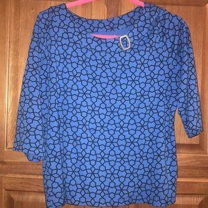 Kim Rogers Woman's Shirt Petite Size large 5/$25